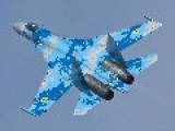 Fighter Jet Shot Down Near Ukraine's City Of Kramatorsk, Witnesses Say