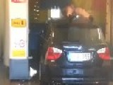 FUNNY Young Man In The Carwash