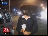 Female Reporter Sexually Harassed During Live TV News Report