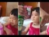Father Feeds Baby Beer As She Refuses To Drink Anything Else