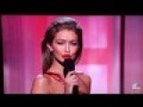 Fanatical Leftist Elite$ Immigrant-Basher Racist And Fashion Model Gigi Hadid Impersonates First Lady Melania Trump