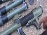 Free Syrian Army Weapon Aids - M79 Osa Anti Tank