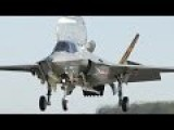 F-35 Shows Off Some Of Its Capabilities During The 2016 Farnborough International Airshow