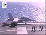 F-18, C-2 Greyhound. Carrier Takeoffs And Landing - USS George H.W. Bush