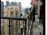 Firemen Stop Woman From Jumping 18 Storeys To Her Death