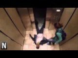 Funny : Zombie In Elevator
