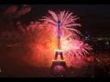 Fireworks At The Eiffel Tower For Bastille Day