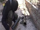 Firing M79 OSA Against Buildings In Ghouta