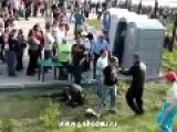 Festival Beat Down - Russian Style