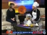 Fake Chef Pranks Multiple Local News Stations...funny Shit