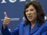FACT CHECK: LABOR SECRETARY SOLIS MISLEADS ON JOBS REVISIONS