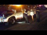 Girls Crashes Car, Then Gets Into Fight At Street Races