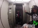 Getting Head In The Elevator Prank