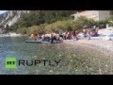 Greece: Illegals Continue To Arrive On Island Of Samos