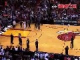 Guy Makes 75K Halfcourt Shot And Gets Tackled By Lebron James At Miami Heat Game