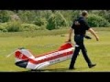 Giant Homemade RC Boeing Helicopter Fly Demo