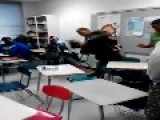 GAY STUDENT Fights Tiny **BLACK GIRL** In Classroom