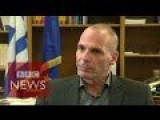 Greece Debt Crisis: '100% Chance Of Sucess' Says Varoufakis - BBC News