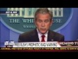 George W. Bush Predicts ISIS In 2007