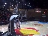 Guiness World Record Backflip Dunk