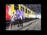 German Graffiti Artists Get Shot At When Caught In Naples Train Station 2011