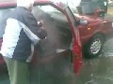 Grandpa Wash His Car