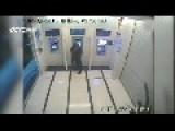 Girl Wrestles Knife From Robber At ATM