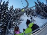 GoPro Footage Shows Wonderful Father And Daughter Skiing Holiday