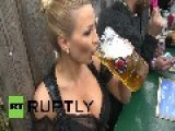 Germany: 'Maybe I'm The Sexiest?' Busty Jordan Carver Hits Oktoberfest