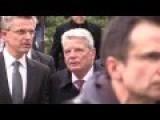 German Citizen Yell At President Joachim Gauck