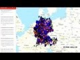 German Activists Create A Map Of Illegal Immigrants Criminal Activities