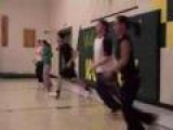Girl Takes Dodgeball To The Face