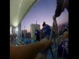 GoPro Hooligan Fight Inside Stadium
