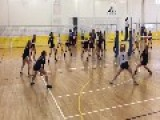 Girl Gets Smacked In Face With Volleyball