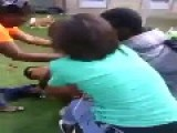 Gay Guy Loses It And Starts Fight With Black Girl