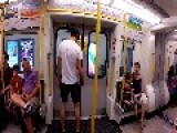 GoPro: Man Races London Subway Train From One Stop To The Next!