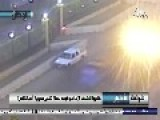 Grainy CCTV Captures The Detonation Of A Car Bomb Outside The Egyptian Military Junta's Secret Police Building: Cairo