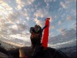 GoPro Footage Shows Scuba Diver Stranded 30 Miles From Coast