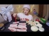Ghostly Looking Asian Chick Cooks Eats Meh Meal For 75,000 Views