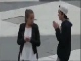 Girl Super Slapped : - Slow Motion