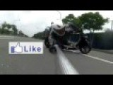 Great Skill From Japanese Stunt Rider