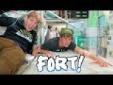 Guys Get Caught Building A Fort In Walmart... On Black Friday