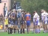 General Brawl In A Rugby Match After Only 1 Minute Of Play