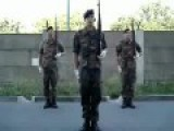 German Army Drill Team - Freetime Exercise