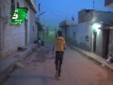 Green Gas Spreading Through Streets Of Kafr Zita