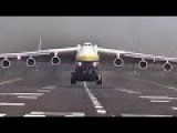 Giant Antonov An-225 Mriya Takes Off