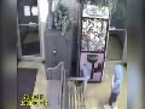 Girl Gets Stuck Inside Arcade Game
