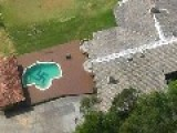 Giant Swastika Found In Brazil Swimming Pool