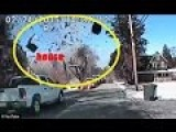 Gas Explosion Levels Home In NJ! Police Cam Video