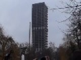 German Skyscraper Reduced To Rubble - 116-meter Skyscraper Was Demolished In Seconds